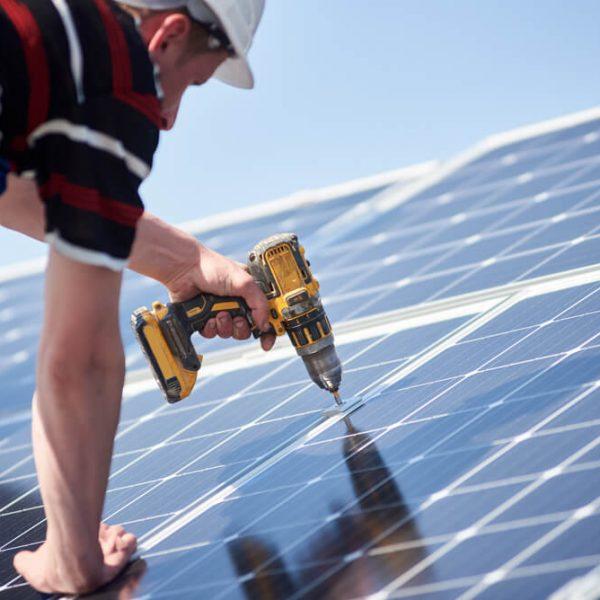 inštalácia solárnych panelov na dom montáž Profi montáže
