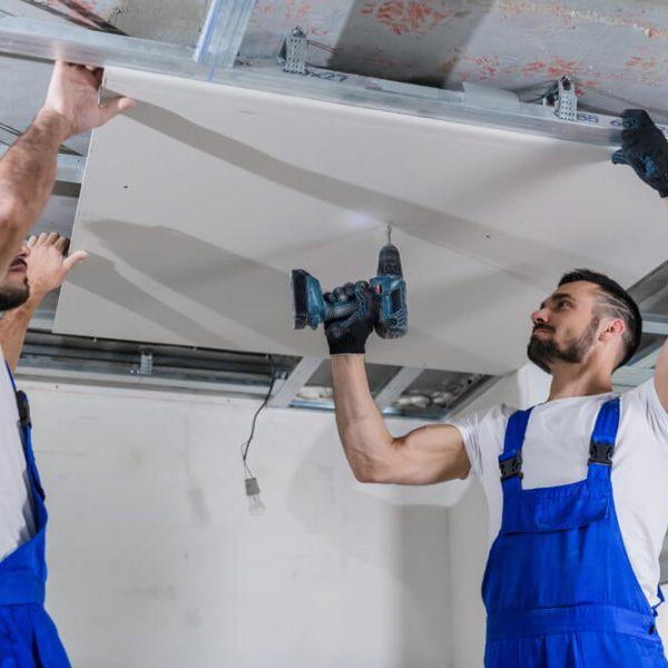 Montáž sadrokartónu priamo na strop Profi montáže