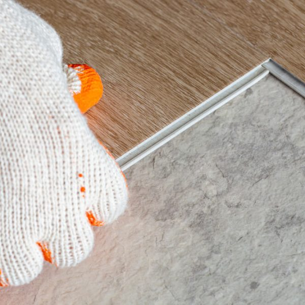 montáž vinylovej podlahy click Bratislava Profi montáže