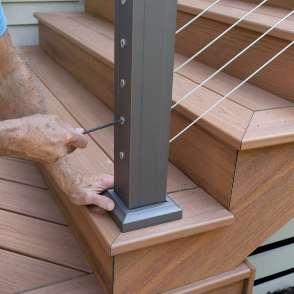 montáž zábradlia na schody balkón či terasu Profi montáže