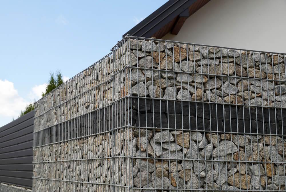 gabionový plot montáž Profi montáže