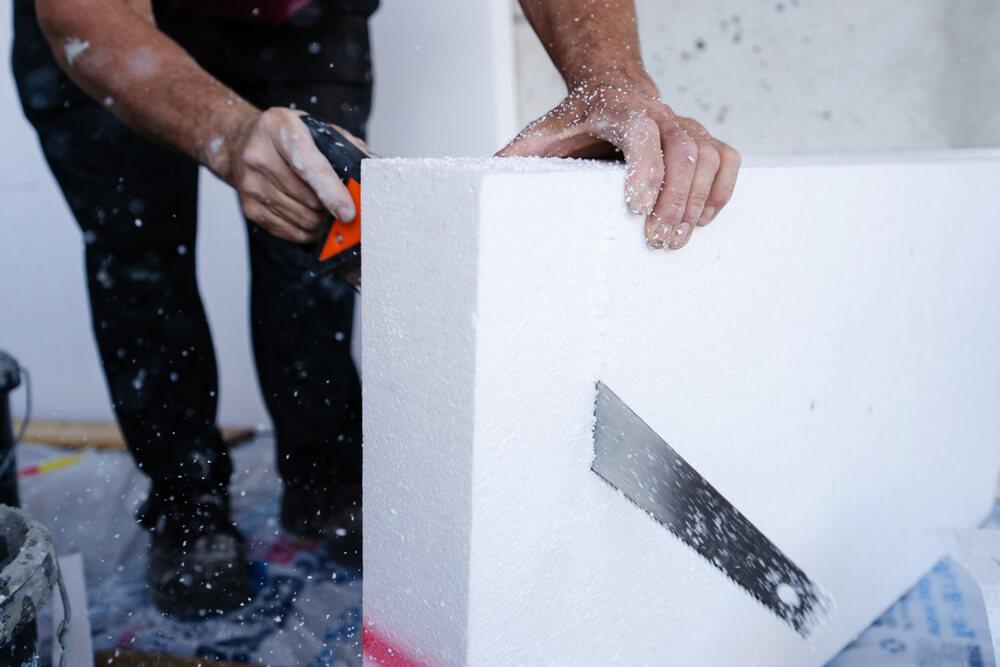 montáž polystyrénu na stenu či strop Profi montáže
