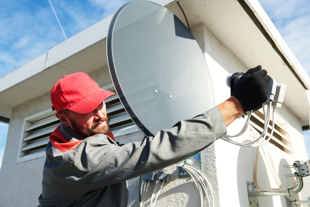 montáž satelitov Bratislava Profi montáže